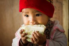 Stunning photography and portraits. Yummy cabbage - Annapurna Sanctuary Trek, Nepal by Simon Christen