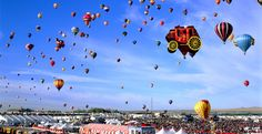 Hot-Air Balloon Festivals From Around The World Fill The Sky With Orbs Of Vivid Colors