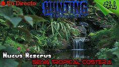 Hunting Simulator 2017 - #4 - Nueva Reserva - Selva Tropical Costera - E...