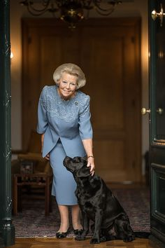 Our former Queen Beatrix, nowadays Princess Beatrix, becomes 80 years on 2018-01-31