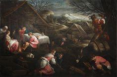 Jacopo Bassano : Winter (Musée Thomas-Henry  (France - Cherbourg)) 1510-1592 ヤコポ・バッサーノ