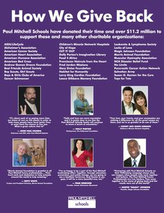 Did you know that Paul Mitchell Schools have donated over $11.2 Million to charity? #PMTSlife #FUNraising