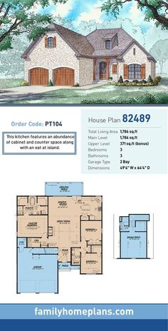 82 best french country and acadian style house plans images in 2019 rh pinterest com