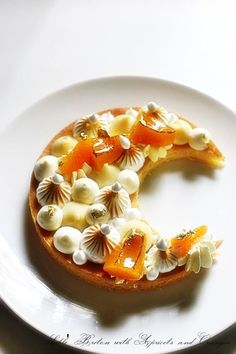 Sablé Breton with Apricots and Oranges : Dad's Birthday  All inspiration from Chef Kévin Ketkaew / Audre / Christ and Michalak.