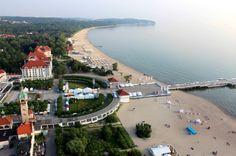 """Sopot är den tredje staden i """"Trestaden"""" de övriga är Gdynia och Gdansk."""