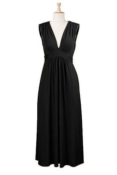 Just purchased this!! Can't wait for it to arrive.  - Deep V-neck maxi knit dress