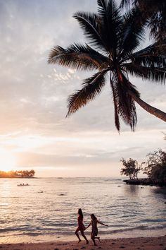 Hawaii Travel Bucketlist - Kawela Bay, Oahu - Watch the sunset on the North Shore and maybe even spot some turtles! More Hawaii travel ideas on our site!