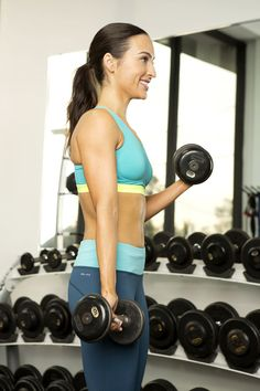Are You Using the Right Size Dumbbells?