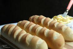 Panecillos de Viena (con prefermento) - Mis recetas favoritas by Hilmar Pan Bread, Yeast Bread, Bread And Pastries, Empanadas, Sweet Bread, Scones, Sushi, Biscuits, Rolls