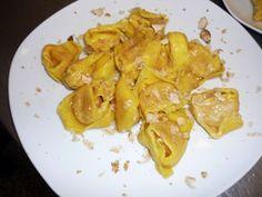 Tortelli di zucca alla mantovana con tartufo