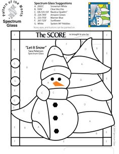 Stained Glass Patterns for FREE 992 Let It Snow.jpg
