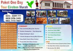 LESAT TOUR CIREBON - Paket Wisata Cirebon Kuningan: PAKET WISATA CIREBON