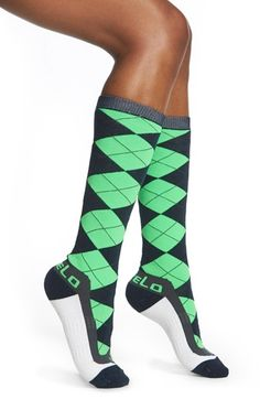FiveLo 'Seattle' Argyle Socks