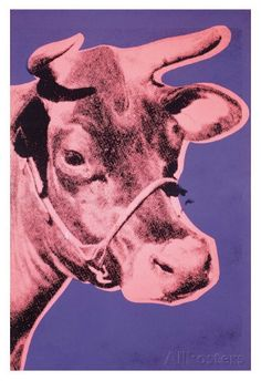 Cow, 1976 Poster by Andy Warhol at AllPosters.com