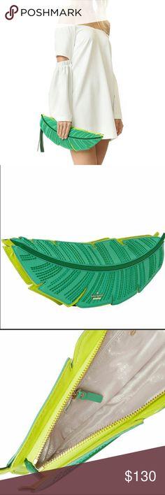 Kate Spade ♠️ Banana Leaf Purse New with tags Kate Spade banana leaf purse. kate spade Bags Clutches & Wristlets