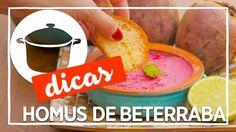 Prapapa - Homus de Beterraba (Pastinha de Grão-de-Bico)