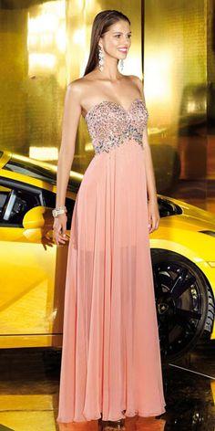 pink prom dress long pink prom dresslong
