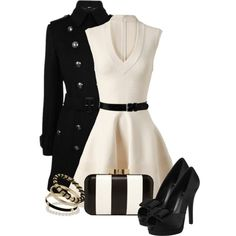 """""""Black and White"""" by fruitpunchsos on Polyvore"""