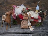 The Olde Country Cupboard Primitive Dolls and Patterns