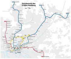 La #metropolitana di #Amburgo è conosciuta come Hamburg U-Bahn, ed è solo una parte del fitto sistema di trasporto della città, che comprende: metropolitana ( U-Bahn) con 4 linee, 91 stazioni e 105 km di tracciato (2012), treni suburbani ( S-Bahn), tram e autobus. Solamente con l' U-Bahn ogni anno viaggiano più di 250 milioni di passeggeri. Le metropolitana U-Bahn di Amburgo serve inoltre le città di Nordestedt e Ahrensburg.