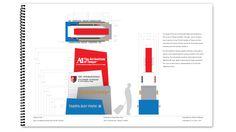 AITA Wayfinding System • Steven Kielbasa / Graphic Design