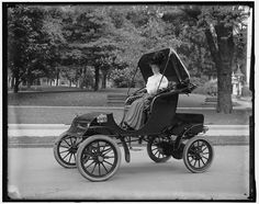 Vintage Photos of Women Driving Automobiles, ca. 1905-1915