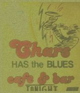 chars has the blues...spent last weekend kicking my heels up to live blues music in a little old house that is one of my phoenix favorite spots..always a good time