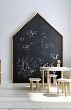 A Lovely Shared Room for Three Girls – Petit & Small – kids playroom ideas Deco Kids, Kid Spaces, Play Spaces, Small Spaces, Kids Furniture, Furniture Plans, System Furniture, Furniture Chairs, Garden Furniture