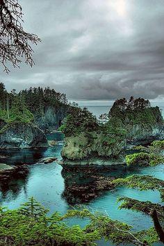 Cape Flattery, Olympic Coast National Marine Sanctuary, Washington