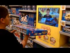 Lego augmented reality..search for more examamples on you tube..that's GREAT!!!