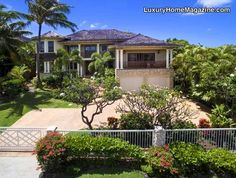 Grand estate and home design