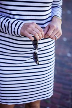 The Striped Dress | Sequins & Stripes