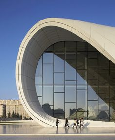 Twenty exterior and interior photos (and a video) of architect Zaha Hadid's Heydar Aliyev Centre, winner of the Design Museum's 2014 Design of the Year.