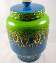 Vintage MidCentury Modern  Rosenthal Netter Bitossi Vase by LuckySevenVintage, $50.00