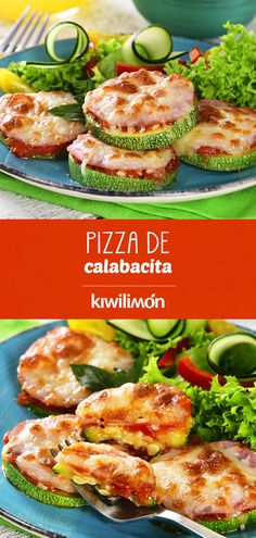 Pizza de Calabacita This delicious and easy of Zucchini your kids will love it. Food Porn, Zucchini Pizzas, Good Food, Yummy Food, Cooking Recipes, Healthy Recipes, Perfect Food, Mexican Food Recipes, Lunches