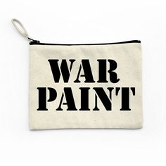 Hey, I found this really awesome Etsy listing at https://www.etsy.com/listing/397848003/war-kit-canvas-pouch-makeup-bag-cosmetic