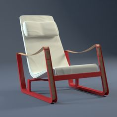 prouve cite lounge chair