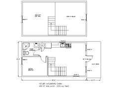 14 X 40 Floor Plans With Loft