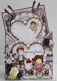 Cute Criss-Cross Card
