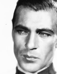 Gary Cooper as 'Légionnaire Tom Brown' - 1930