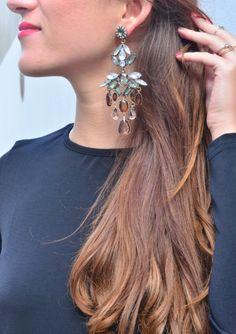 Gala Chandelier Statement Earrings 13,90€ #happinessbtq