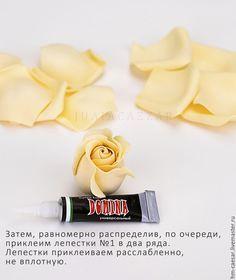 Tworzenie delikatna róża z foamirana - Targi Masters - Handmade, ręcznie