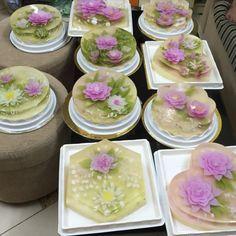 Gelatin Art Tools - 3D Jelly Cake Tools High Quality (Size 2) 4pcs ...