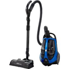 Samsung Bagless Canister Vacuum - Electric Blue on Sale