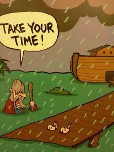 Funny Bible Old Testament Noah's Ark Flood Cartoon Joke Pictures and Images Cartoon Jokes, Cartoon Pics, Funny Cartoons, Cartoon Picture, Christian Cartoons, Christian Jokes, Religious Humor, Atheist Humor, Humor Religioso