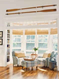 Good spot to sit for reading and relaxing. Very nice house style.   #capecodstylehomes http://thelocalrealty.com