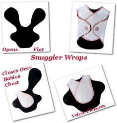 NICU Snuggler Wraps - Preemie, Newborn and Premature Baby Clothing - Jacqui's Preemie Pride