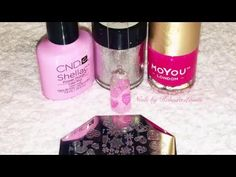 Candy Hearts & Glitter Fade Valentines Nail Art Tutorial - YouTube