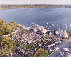 Love concerts at Lake Harriett (Minneapolis, MN) in the summers!