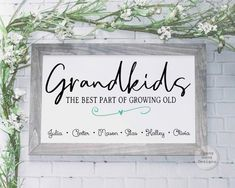 Mothers Day Signs, Diy Mothers Day Gifts, Mothers Day Cards, Mothers Day Decor, Grandparent Gifts, Presents For Grandma, Birthday Gifts For Grandma, Grandma Gifts, Mom Gifts